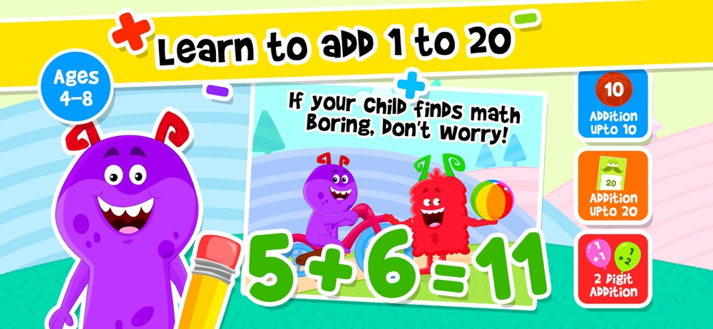 Addition Subtraction for Kids! Cheat Codes
