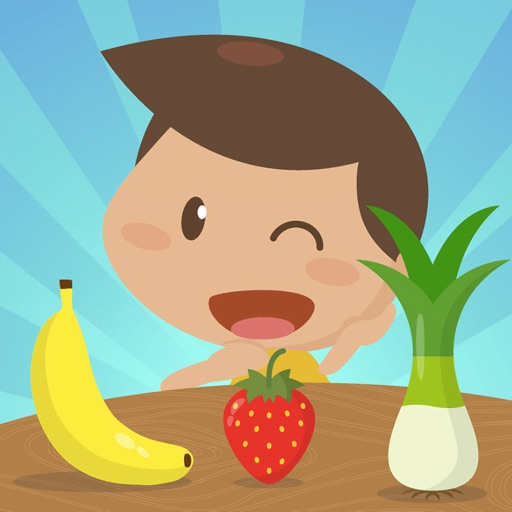 Learn fruits and vegetables EN