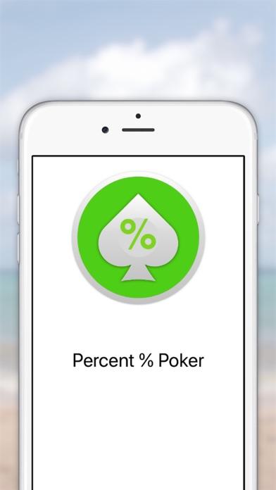 Percent % poker