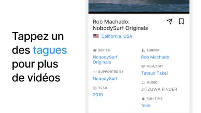 Screenshot #2 pour NobodySurf - Surfing Videos