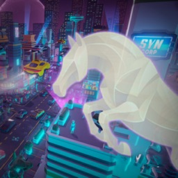Cyberpunk Horse