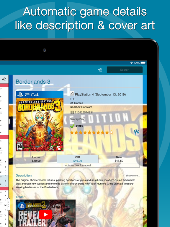 Screenshot #5 pour CLZ Games - Game Database