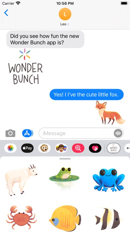 Wonder Bunch Emojis screenshot-1