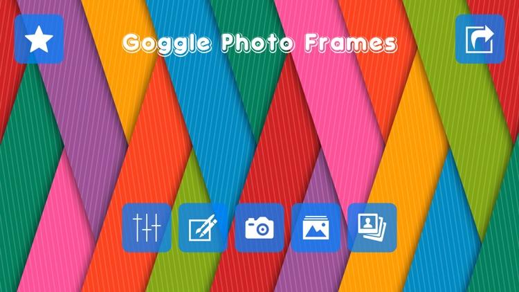 Goggle Photo Frames & Editor screenshot-4