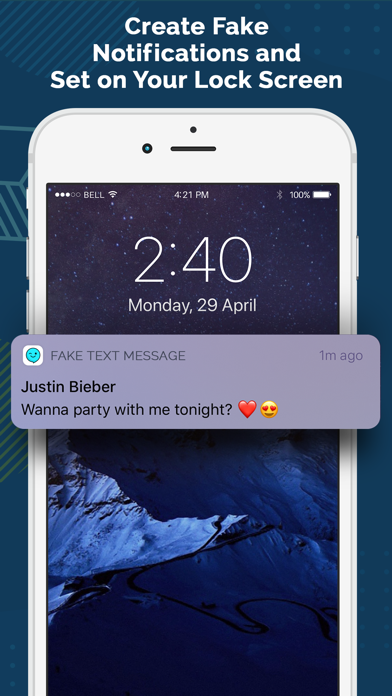 Fake Text Message ‼ by Riddhi Rakeshbhai Patel (iOS, United