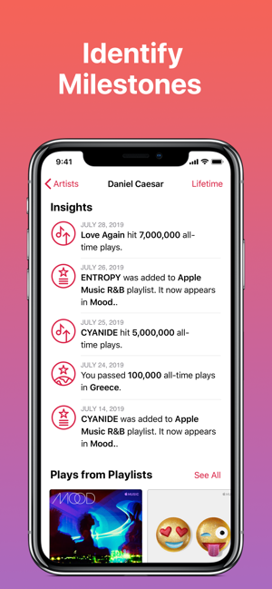 ‎Apple Music for Artists Screenshot