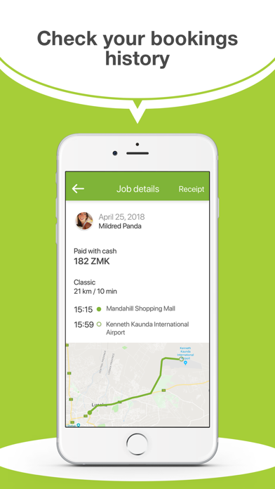 Ulendo Driver app screenshot two