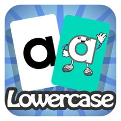 Letters Flashcards - Lowercase
