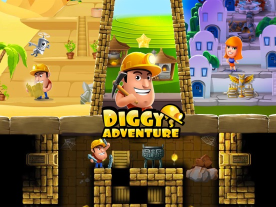 Diggy's Adventure: головоломка на iPad