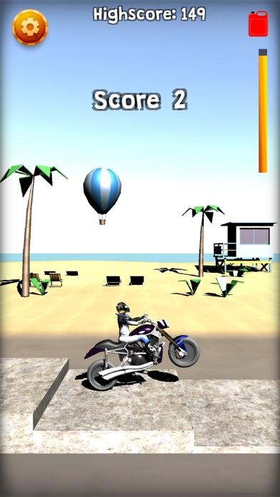 Screenshot #2 pour Wheelie Or Die - Wheelie game