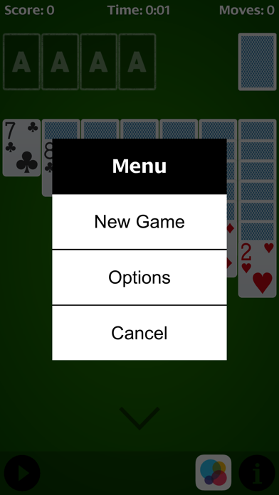 Solitaire - free cell. screenshot three