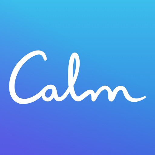 Calm free software for iPhone and iPad