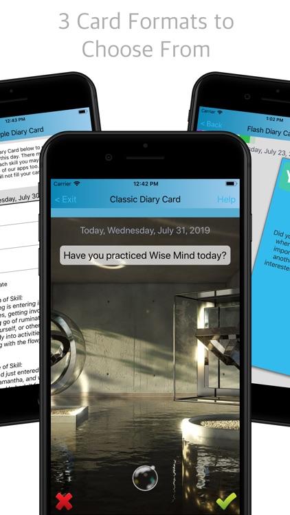 Simple DBT Skills Diary Card by POP POP LLC