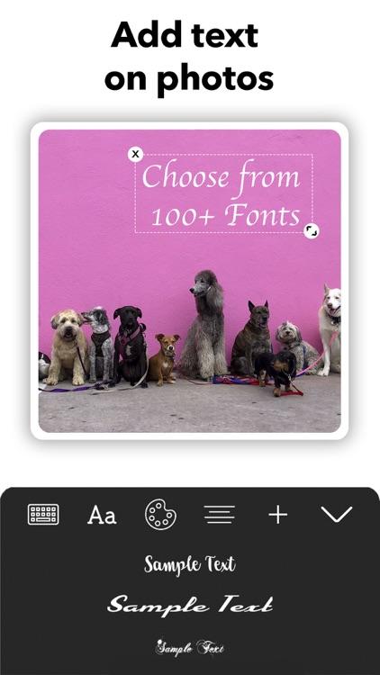 Picso Photo Collage Maker Grid screenshot-4