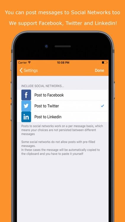 Easy Message - Group Mass Text screenshot-3