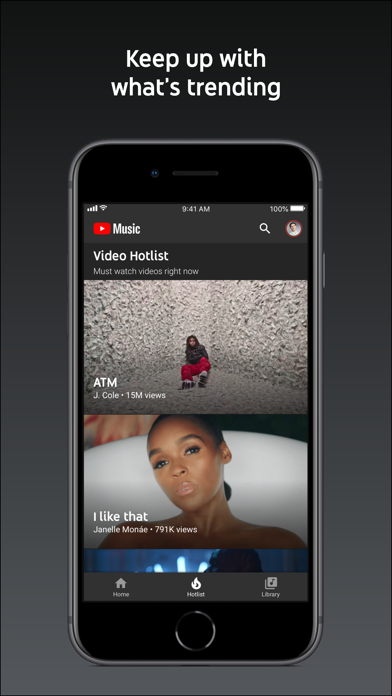 Screenshot for YouTube Music in United Kingdom App Store