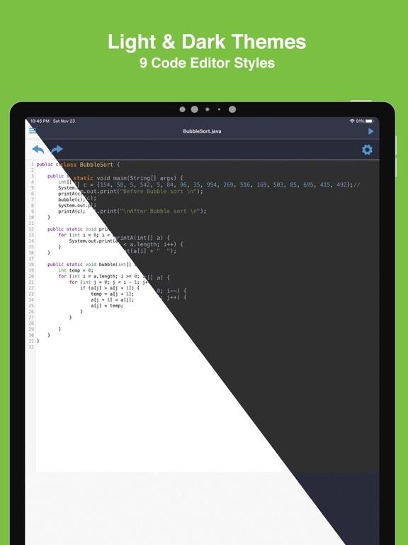 Cloud Compiler, Write&Run Code screenshot