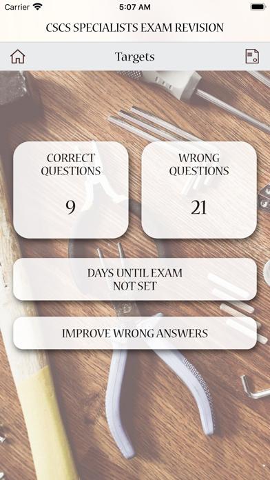 CSCS Specialists Exam Revision screenshot 6