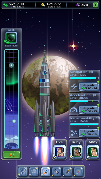 Idle Tycoon: Space CompanyScreenshot von 2