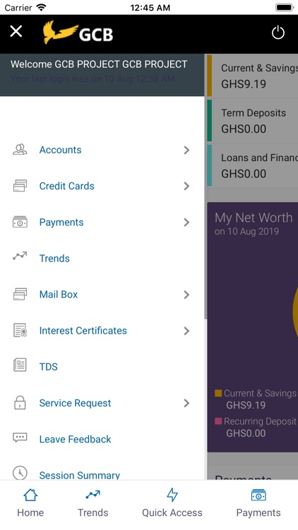 GCB Mobile Banking screenshot-2