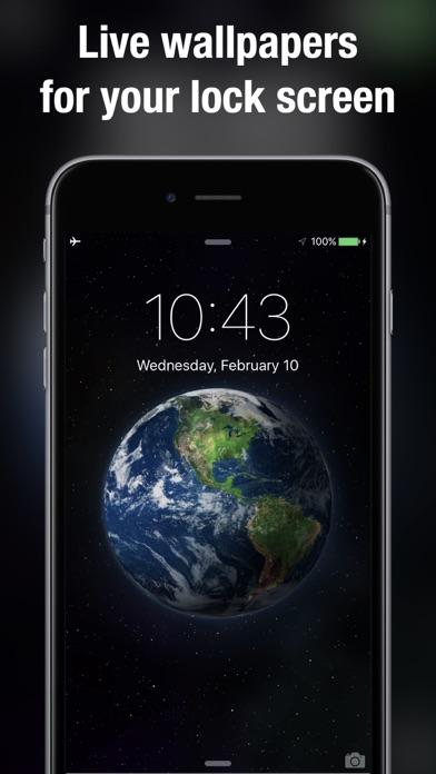 Dynamic wallpapers & themes iphone ekran görüntüleri