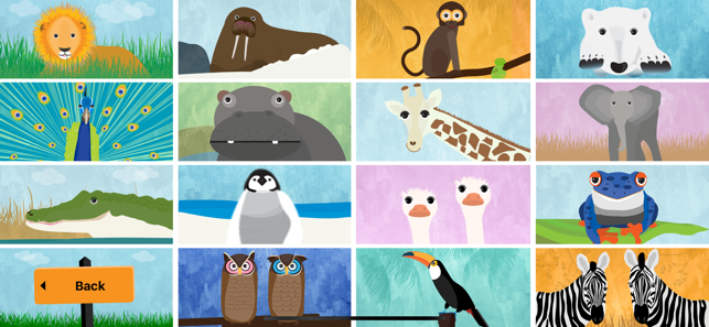 ‎Peek-a-Zoo: Play Peekaboo Zoo Screenshot