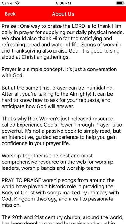 Pray To Praise