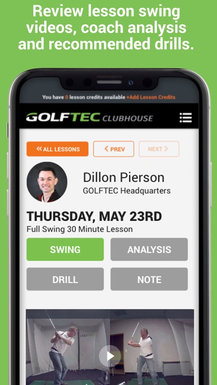 GOLFTEC CLUBHOUSE screenshot-3