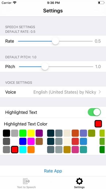 Text2Speech. screenshot-3