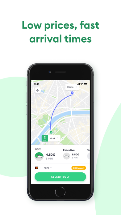 Screenshot for Bolt (Taxify) in United States App Store