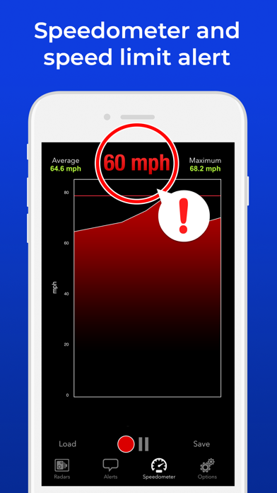 Radarbot Pro Speedcam Detector Screenshots
