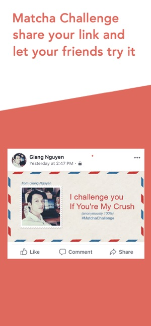 ‎Matcha: Challenge Your Crush Screenshot