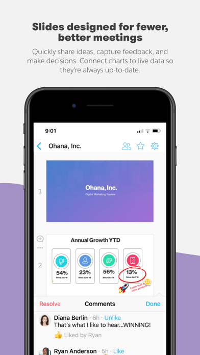 Quip - Docs, Chat, Sheets Screenshot on iOS