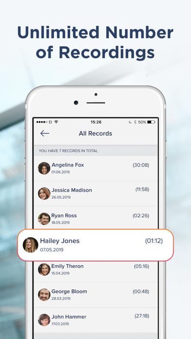 Call Recorder iCall screenshot four