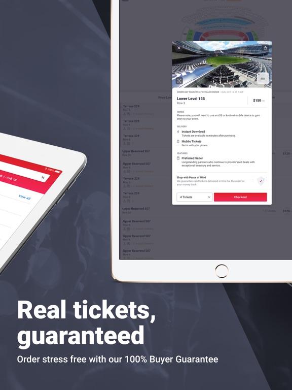 Vivid Seats – Tickets: Sports, Concerts, Theater screenshot