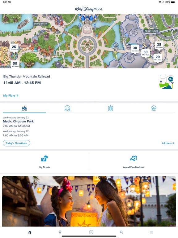 My Disney Experience-ipad-0