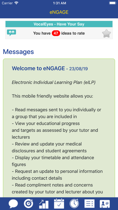 eNGAGE - Gower College Swansea screenshot two