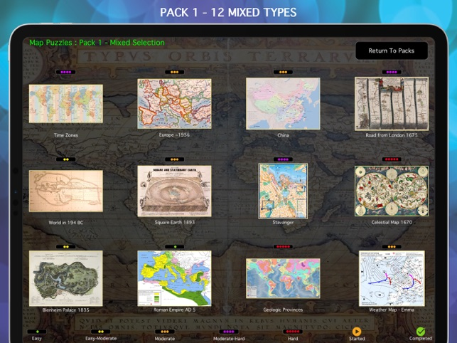 Map Puzzles on the App Store