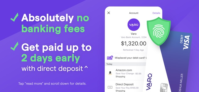 Varo: Mobile Banking & No Fees on the App Store