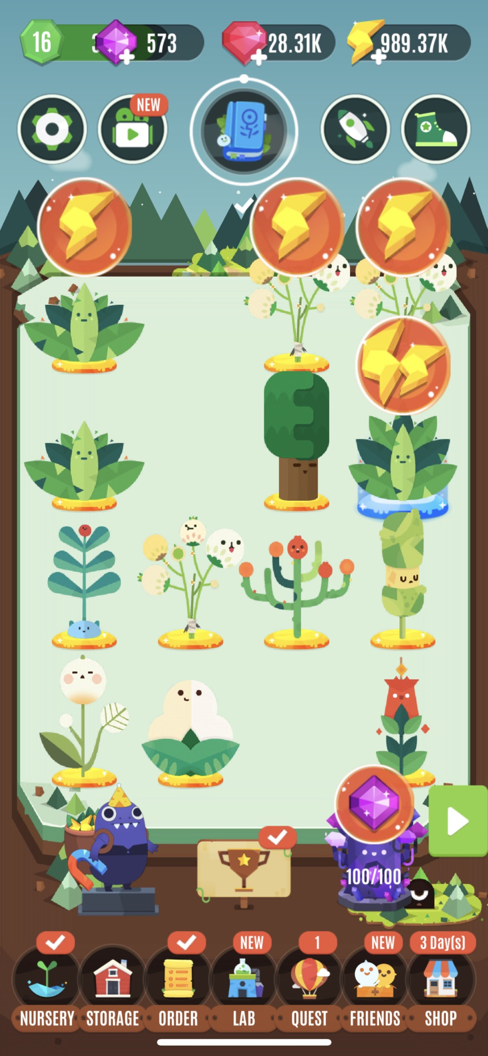 Pocket Plants – Merge Games Cheat Codes