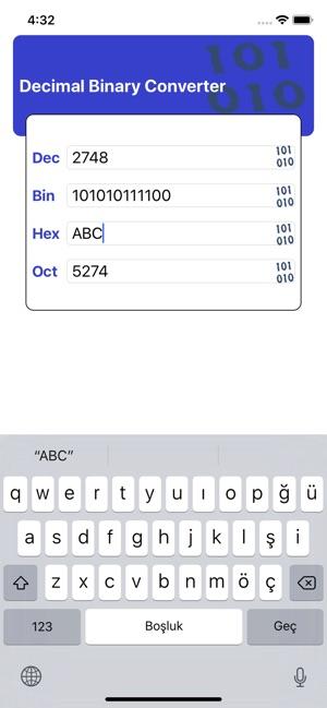 Decimal Binary Converter Pro on the App Store