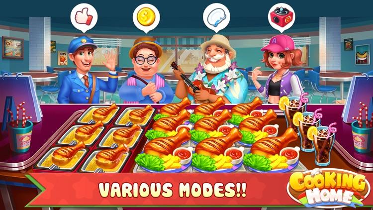 Cooking Home: Cooking & Design screenshot-3