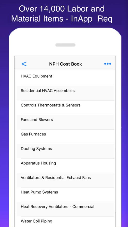HVAC Pro Invoices & Estimates App 截图