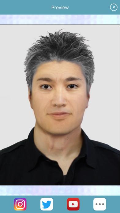 HourFace: 3D Aging Photoのおすすめ画像6