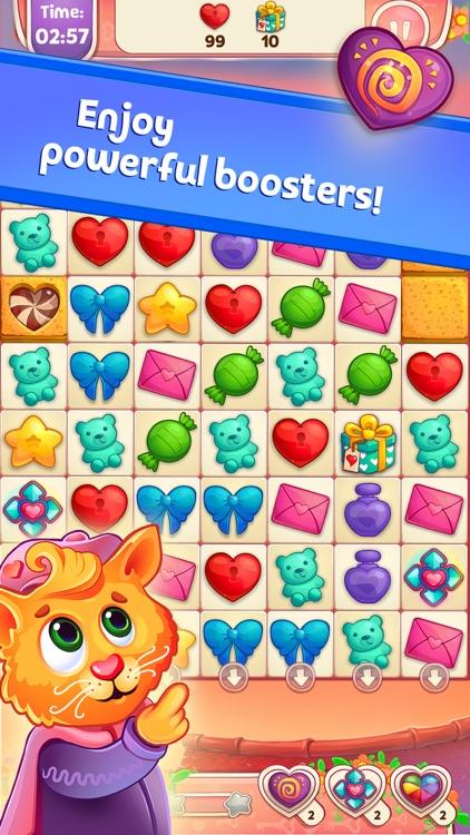 Sweet Hearts Match 3 screenshot-5