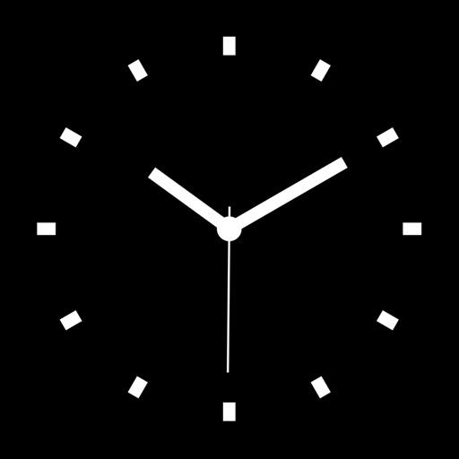 Desk Clock - ナイトスタンド中央の目覚まし時計