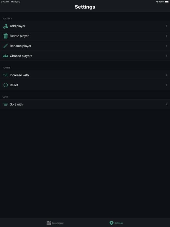 Ipad Screen Shot Scorekeeper 1