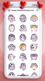 Emojis Animated Stickers Love iphone images