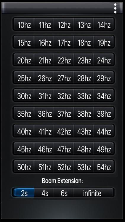 Ultra-Low Subwoofer Bass Pad screenshot-4