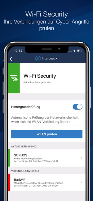‎Sophos Intercept X for Mobile Screenshot
